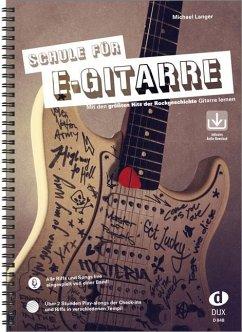 Schule für E-Gitarre - Langer, Michael