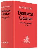 Schönfelder Deutsche Gesetze, gebundene Ausgabe ohne Fortsetzung, Ausg. II/2015