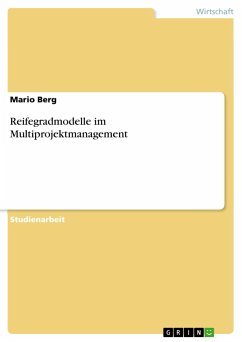 Reifegradmodelle im Multiprojektmanagement