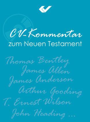 cv kommentar zum neuen testament 1 cd rom software