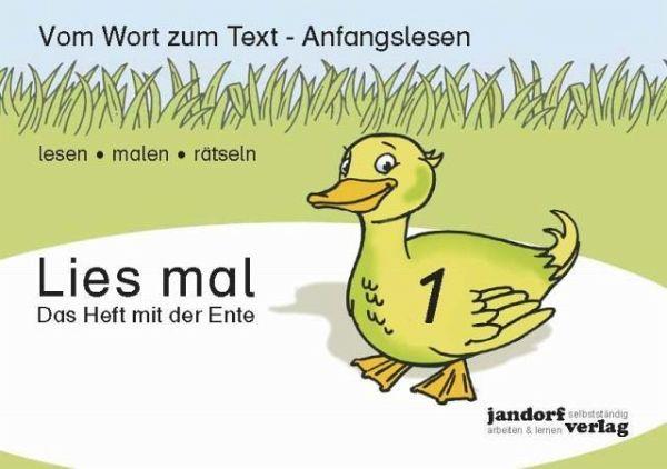 Lies mal 1 - Das Heft mit der Ente H.1 - Wachendorf, Peter; Debbrecht, Jan