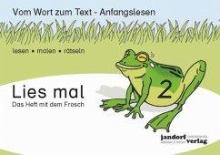 Das Heft mit dem Frosch / Lies mal Bd.2 - Wachendorf, Peter; Debbrecht, Jan