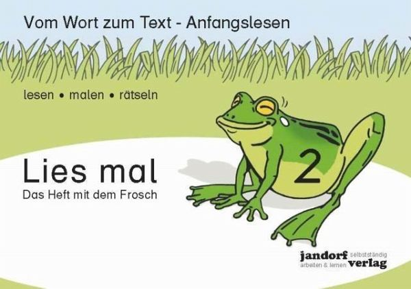 Lies mal 2 - Das Heft mit dem Frosch H.2 - Wachendorf, Peter; Debbrecht, Jan