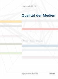 Jahrbuch 2015 Qualität der Medien