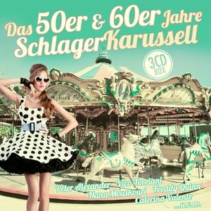 das 50er 60er jahre schlager karussell cd. Black Bedroom Furniture Sets. Home Design Ideas