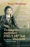 Transportnummer VIII/1387 hat überlebt (eBook, ePUB)