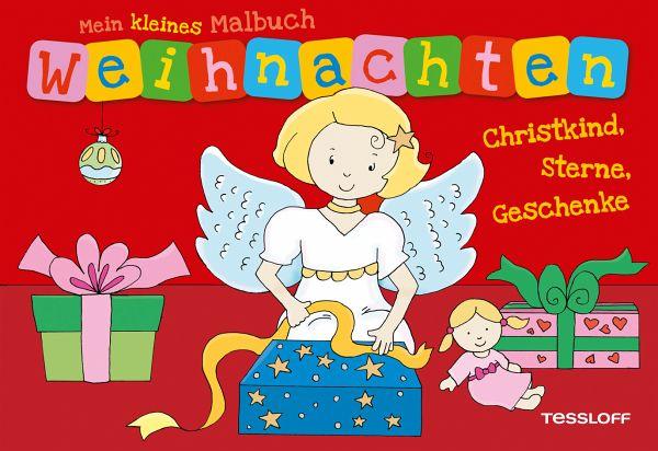 Christkind Bilder Weihnachten.Mein Kleines Malbuch Weihnachten Christkind Sterne Geschenke
