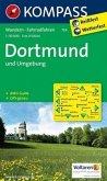 Kompass Karte Dortmund und Umgebung