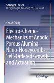 Electro-Chemo-Mechanics of Anodic Porous Alumina Nano-Honeycombs: Self-Ordered Growth and Actuation