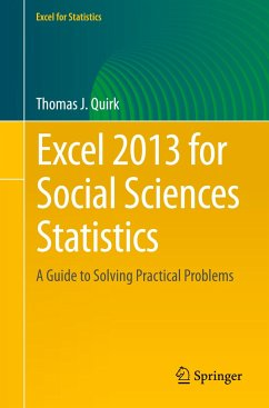 Excel 2013 for Social Sciences Statistics - Quirk, Thomas J.