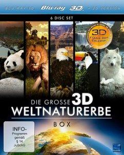 Die große 3D Weltnaturerbe Box (6 Discs) - N/A