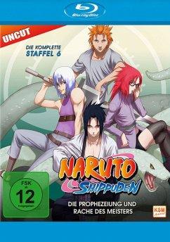 Naruto Shippuden - Die komplette Staffel 6 BLU-RAY Box