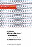 Abschied von der Solidarität? (eBook, ePUB)