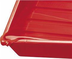 Kaiser Laborschale 24x30 rot 4168