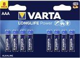 20x8 Varta Longlife Power Micro AAA LR 03 VPE Innenkarton