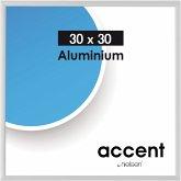 Nielsen Accent 30x30 Aluminium silber matt 54124