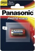 100x1 Panasonic Photo CR-123 A Lithium VPE Masterkarton