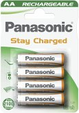 1x4 Panasonic Akku NiMH Mignon AA 1000 mAh Ready to Use DECT