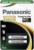 1x2 Panasonic Akku NiMH Micro AAA 900 mAh