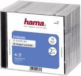 Hama CD Double Box 10er Jewel-Case 44747