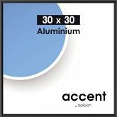 Nielsen Accent 30x30 Aluminium schwarz 54126