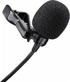 Walimex Pro Lavalier Mikrofon (Ansteckmikrofon Länge 120cm, inkl. Clip) für Smartphones