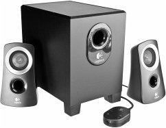 Logitech Z 313 2.1 PC Lautsprecher schwarz