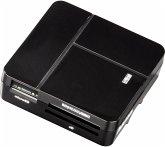 Hama USB 2.0 Multikartenleser Basic SD/microSD/CFMS/xD schwarz