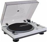 Omnitronic BD-1350 Riemengetriebener DJ-Plattenspieler silber