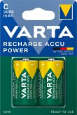 1x2 Varta Rechargeable Accu C Ready2Use NiMH Baby 3000 mAh