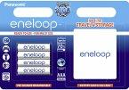 1x4 Panasonic Eneloop Micro AAA 750 mAh + Akkubox