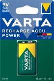 1 Varta Rechargeable Accu E Ready2Use NiMH 9V-Block 200 mAh