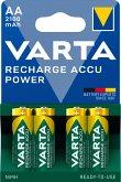 1x4 Varta Rechargeable Accu AA Ready2Use NiMH 2100 mAh Mignon