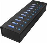 Raidsonic ICY BOX IB-AC6110 10-Port USB 3.0 Hub