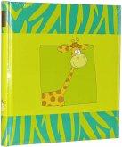 Goldbuch Kinderalbum 30x31 60 Seiten Safari Giraffe 27037