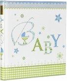 Goldbuch Lovely blau 30x31 60 Seiten Babyalbum 15086