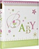 Goldbuch Lovely rosa 30x31 60 Seiten Babyalbum 15085