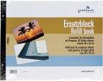 Goldbuch Ersatzblock 38x30 30 Seiten schw.+ Schrauben 83077