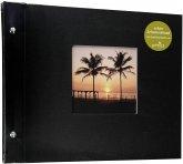 Goldbuch Bella Vista schw. 30x25 Schraubalbum 40 schwarze Seiten