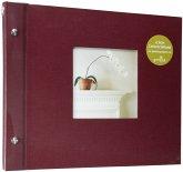 Goldbuch Bella Vista bord. 30x25 Schraubalbum 40 schwarze Seiten