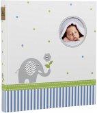 Goldbuch Babyworld Wal 30x31 60 Seiten Babyalbum 15329