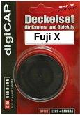 digiCAP Deckelset Fuji X Pro Gehäuse + Objektivrückdeckel