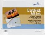 Goldbuch Ersatzblock 38x30 30 Seiten weiß + Schrauben 83078