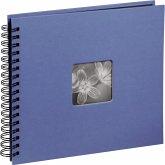 Hama Fine Art Spiral azur 36x32 50 schwarze Seiten 10611