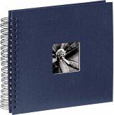 Hama Fine Art Spiral blau 28x24 50 schwarze Seiten 90147