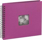 Hama Fine Art Spiral pink 36x32 50 schwarze Seiten 10608