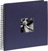 Hama Fine Art Spiral blau 36x32 50 schwarze Seiten 090142