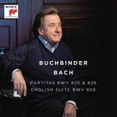 Bach: Partitas,Bwv 825 & 826 - English Suite,