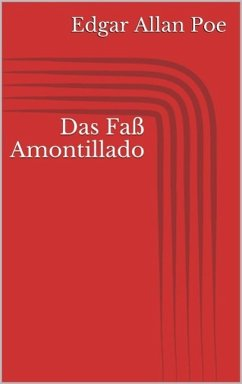 Das Fass Amontillado - Ziemlich Ironie Im Fass Amontillado ...