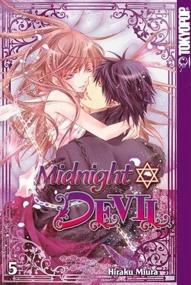 Buch-Reihe Midnight Devil